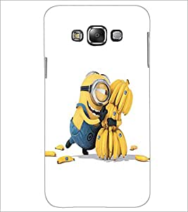 PRINTSWAG MINION Designer Back Cover Case for GRAND GALAXU GRAND MAX