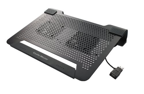 Sale!! Cooler Master NotePal U2 - Laptop Cooling Pad with 2 Movable Fans