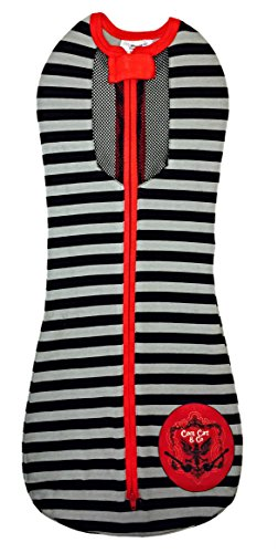 Woombie Air Nursery Blankets, Red/Black, 5-13 Pound - 1