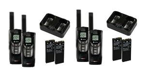 2) COBRA CXR-925 2 Two Way Radio Walkie Talkies 35 Mile by Cobra