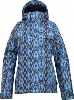 Burton METHOD Jacke 2014 blue-ray nouveau neon print