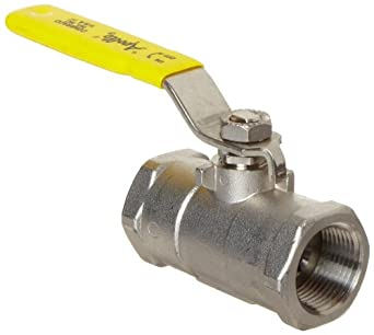 Apollo 96-100 Series Stainless Steel Ball Valve, Unibody, Inline, Lever, NPT Female