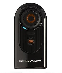 Supertooth HD Handsfree Bluetooth Speakerphone Car Kit - Black from Supertooth