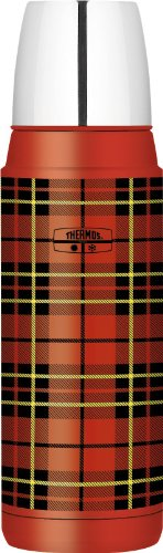 Thermos 16 Ounce Compact Beverage Bottle, Heritage Plaid