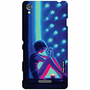 Design Worlds Sony Xperia T3 D5102 Back Cover - Cartoon Designer Case and Covers