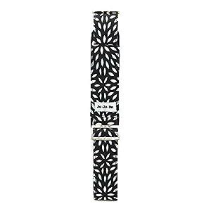 Ju-Ju-Be Messenger Strap Diaper Tote Bag, Platinum Petals from Ju-Ju-Be
