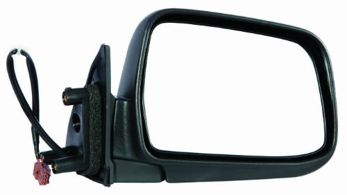 Depo 315-5414R3EF Nissan Frontier/Xterra Passenger Side Textured Non-Heated Power Mirror (2002 Nissan Frontier Mirrors compare prices)