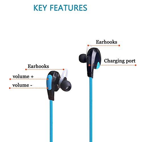 Blue wireless headphones for kids - sony wireless earbuds for kids