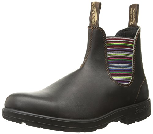 Blundstone, Stivali uomo Marrone stout brown/striped, Marrone (stout brown/striped), 40