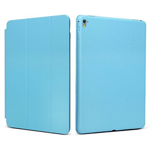 "iPad Pro 9.7 ""Case, JGOO [Full Body Protection] Ultra Slim Folio Abdeckung mit Standplatz und Magnetic Smart Cover Auto-Spur-Schlaf On / Off-Funktion, Klassische Eleganz Stil f¨¹r iPad Pro 9.7 Zoll (2016 Release), Blau"