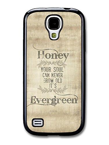 Ed Sheeran Evergreen Thinking Out Loud Song Lyrics custodia per Samsung Galaxy S4 mini