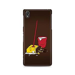 Ebby Minimalist Spongebob Premium Printed Case For Sony Xperia Z2 L50W
