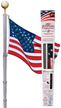 Ezpole Flagpoles Liberty Flagpole Kit, 21-Feet