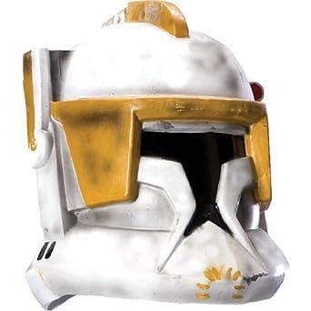 Amazon.com: Adult Clone Trooper Cody 2-pc Helmet (Standard): Clothing