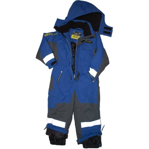 Outburst - Ski overall, functional, boy, blue