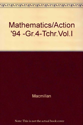Mathematics in Action: Grade 4, Part 1 PDF