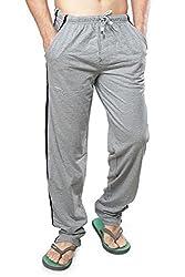Clifton Mens Track Pants - Grey Melange - XX-Large