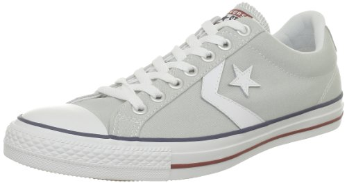 CONVERSE Unisex-Child Star Player Core Canv Ox Trainers 289161-52-121 Gris Clair/Blanc 7.5 UK, 41 EU
