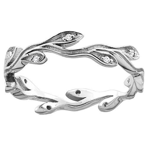10K-White-Gold-Diamond-Olive-Branch-Engagement-Ring-316-inch-wide-sizes-6-9