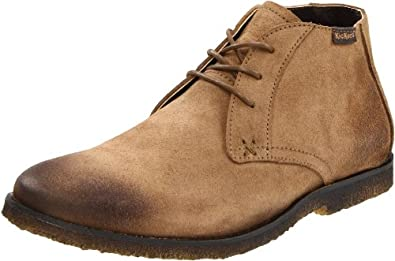 Kickers Men's Jazzy Lace-Up Boot,Light Brown,45 EU/11.5 M US