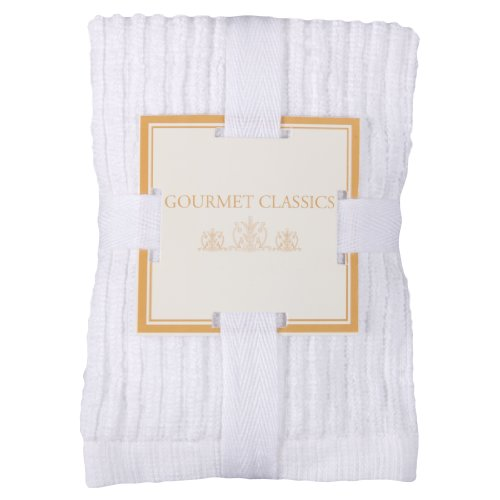 Gourmet Classics 12- by 12-inch Deluxe White
