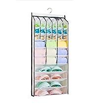 42 cells Hanging Closet Organizer/underwear organizer/bra organizer/socks organizer