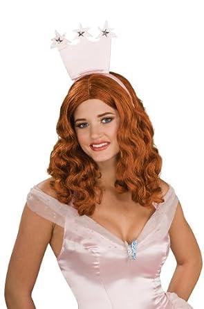 Secret Wishes  Women's Wizard of Oz Glinda Wig, Red/Bronze, Adult Size