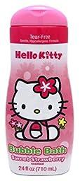 Hello Kitty Bubble Bath 24oz Sweet Strawberry (2 Pack)