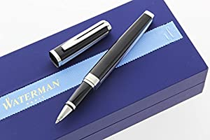 Waterman Exception Rollerball Pen, Night and Day Platinum (S0709170)