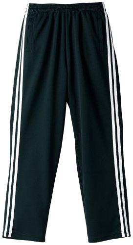 (ユナイテッド アスレ)United Athle 7.0オンスジャージロングパンツ 179501 2001 ブラック×ホワイト L