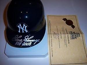 Goose Gossage Yankees Gossage/coa Signed Mini Helmet - Autographed MLB Mini Helmets