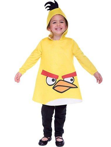 Toddler Yellow Angry Bird Costume