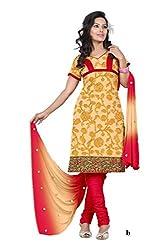 Krisha Np Chanderi Embroidered Work Salwar Suit