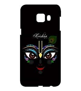 EPICCASE Lord Krishna Mobile Back Case Cover For Samsung C5 (Designer Case)