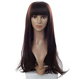 Amazon.com: ANDI ROSE Fashion Women Girls Long Wavy Curly Synthetic
