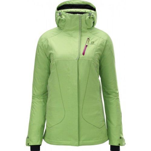 Salomon Zero Jacket - Damen Skijacke, Snowboardjacke grün Gr. XS - M