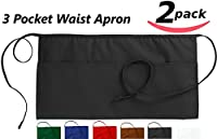 Utopia Aprons Waist Apron with 3 Pockets cotton blended commercial grade