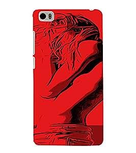 PrintVisa Cool Girl 3D Hard Polycarbonate Designer Back Case Cover for Xiaomi Redmi Mi5