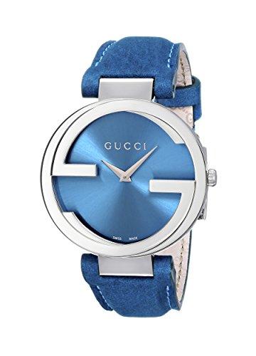 Gucci INTERLOCKING Quartz Orologio da Donna turchese / acciaio YA133315