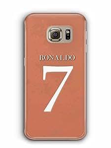 YuBingo Ronaldo, 7..... Designer Mobile Case Back Cover for Samsung Galaxy S6 Edge