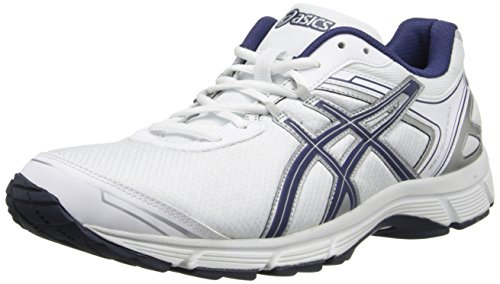 Asics Men's Gel-Quickwalk 2 Walking Shoe,White/Navy/Silver,11 M US