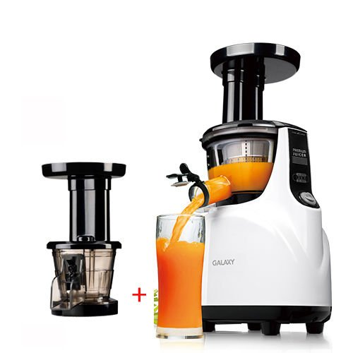 NUC Galaxy GJ-110S Silent Juicer Slow Extractor+ Mincer + Icecream Strainer_220V ;TM79F-32M UGBA531118 (Nuc Juice compare prices)