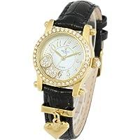 Disney(ディズニー) 腕時計 小ぶりで可愛い27mmケース ミッキー×スワロフスキー レディース 時計