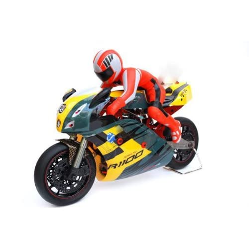 Amazon.com: 1/5 Electric RC Motorcycle w/Aluminum body RC Bike RTR
