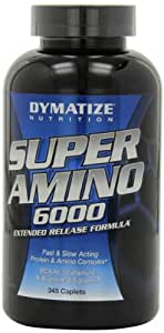 Dymatize Nutrition Super Amino 6000 Diet Supplement Tablets, 345 Count
