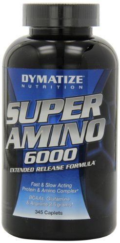Dymatize Nutrition Super Amino 6000 Diet Supplement - 345 Tablets