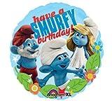 Smurfs 'Have a Smurfy Birthday' Foil Mylar Balloon (1ct)