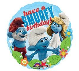 "Birthday Express - Smurfs Foil Balloon - , 18"""