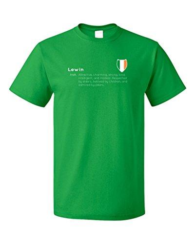 lewin-definition-funny-irish-last-name-unisex-t-shirt-adultm