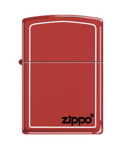 zippo-2003636-accendino-color-rosso-mattone-con-logo-aziendale-nero-e-bordi-bianchi